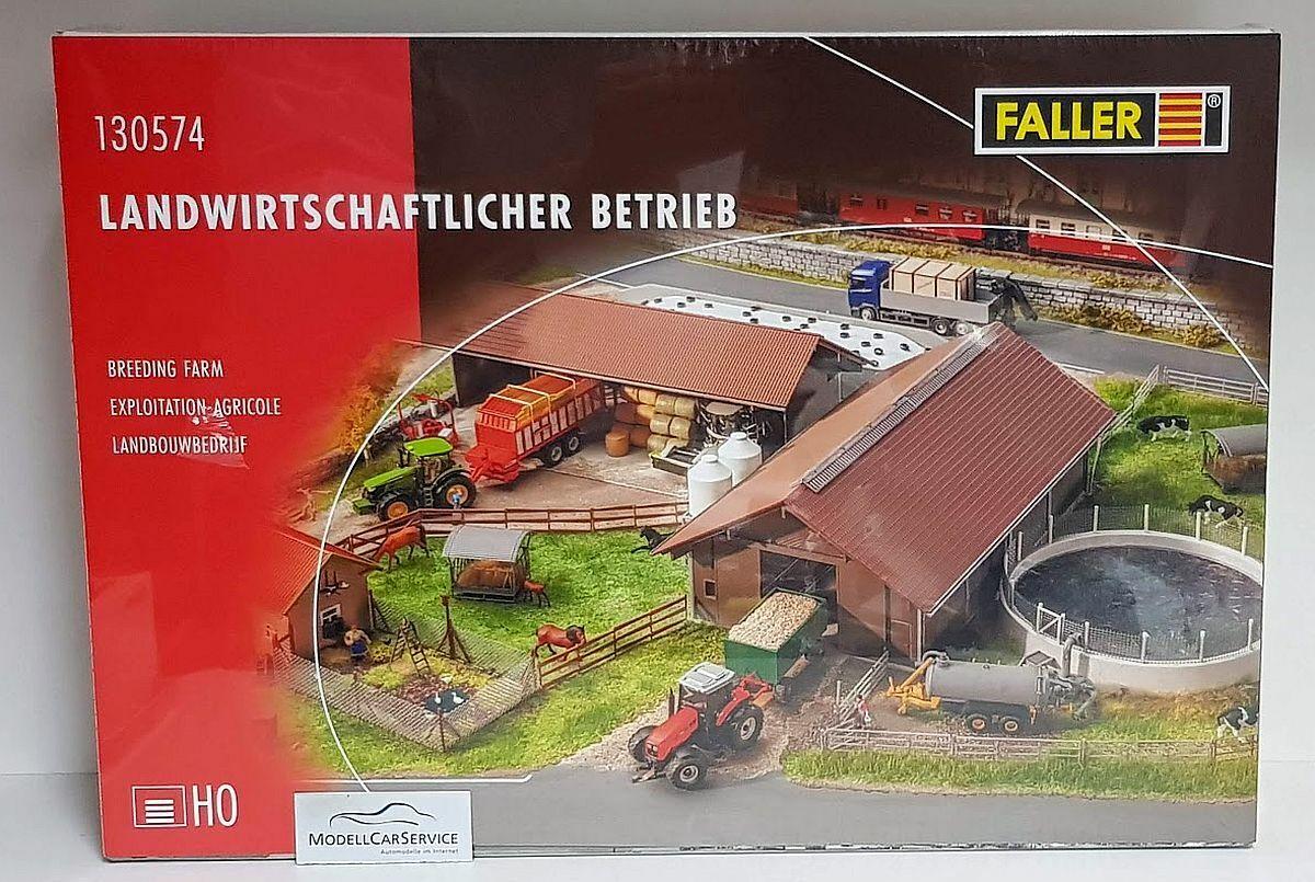 Faller 1 87 (h0)  130574 explotación agrícola Farm-plástico Kit