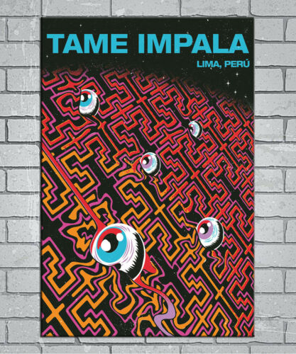 E92 Art Tame Impala Psychedelic 18 24x36inch Poster New Gift