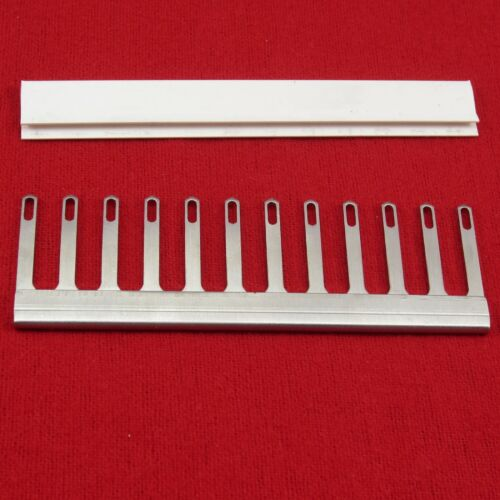 NEU 1x 9.0mm Deckerkamm 12er f Strickmaschine Decker Comb for Knittingmachine