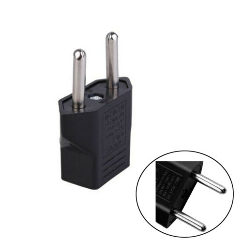 Lot Travel Adapter US to EU Wall Outlet Plug Converter American to European SS