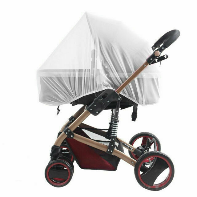 For Maxi-Cosi  Stroller Mosquito Insect Net Baby Mesh Bug Shield Cover White NEW