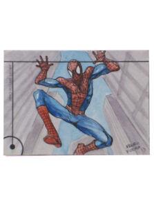 2013-Fleer-Marvel-Retro-Spider-Man-Sketch-Card-Maura-Forda-Original-Art-1-1