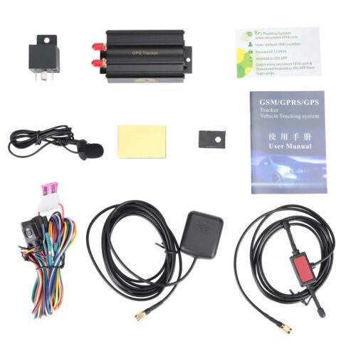 5X Mini GPS//SMS//GPRS Tracker TK103B Vehicle Car Realtime Tracking Device System
