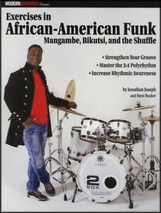 Details about Exercises in African-American Funk Drums Sheet Music Book