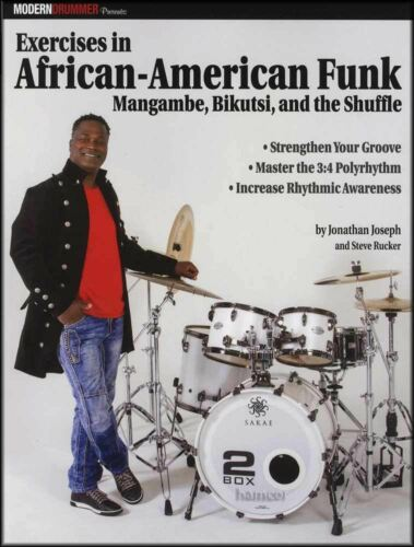Exercises in African-American Funk Drums Sheet Music Book