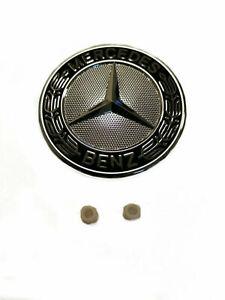 Original Mercedes Emblem Front Bonnet W246 B CL W216 SLS AMG W197 G+ Grommets