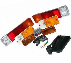 Suzuki-SJ-Juego-completo-de-luces-espejo-retrovisor-derecho-Samurai-Sierra