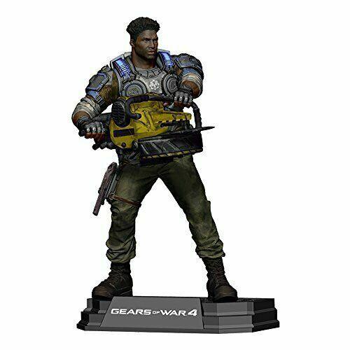 Scale Action Figure McFarlane Gears of War-del Walker 7 in environ 17.78 cm