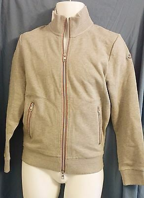 MONCLER Sweat Shirt - Full Zip Maglia Cardigan - 100% Cotton - Small