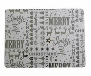 Sparkle-Reindeer-Christmas-Set-Of-4-Placemats
