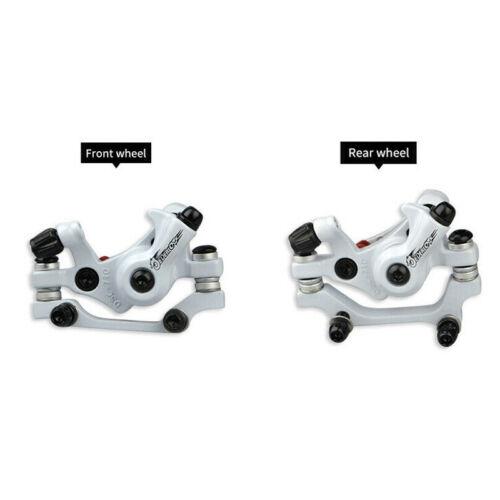JEDERLO Folding Bicycle Brake Disc Front//Rear Mechanical Disc Brake Caliper US