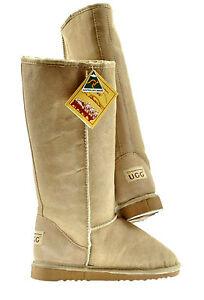 9c5fc3b0898 BNWT Sydney Rams Women's Men's Classic Long Ugg Boots Aus Made Sand ...