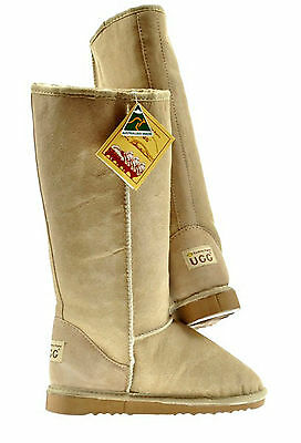 Classic Long Ugg Boots Grey Sydney Rams