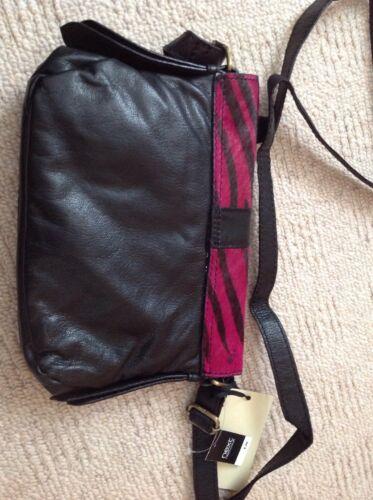 noir sac dames en à cuir main Nouveau fushia qZ6tFx
