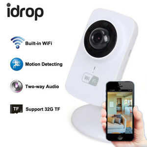 idrop-Wifi-Camera-720p-Wireless-HD-720P-Smartphone-Audio-Baby-Monitor-Indoor