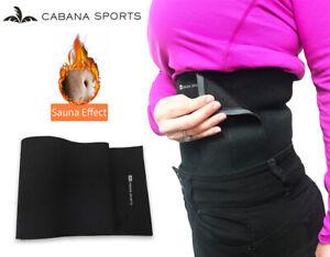 Adjustable Neoprene Slimming Waist Trimmer Exercise Sweat Wrap Belt Men Women