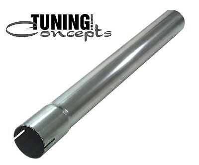 Universalteil Auspuff  50,8mm (2'') 1000mm Auspuffrohr mit Muffe