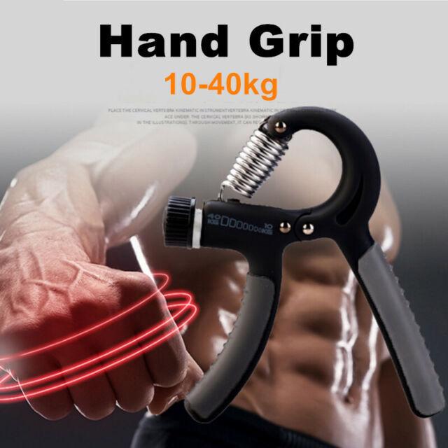 Adjustable 10-40KG Forearm Exerciser Heavy Grip Hand Gripper Strength Training
