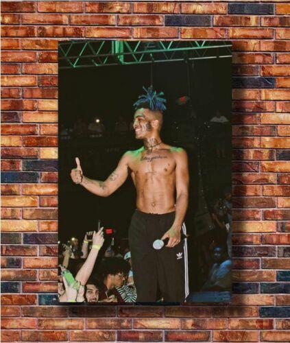 W111 Hot Fabric Poster XXXTentacion Rap Hip Hop Music Star Rapper Singer