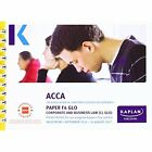 ACCA F4 Corporate and Business Law (Global) - Pocket Notes by Kaplan Publishing (Paperback, 2016)