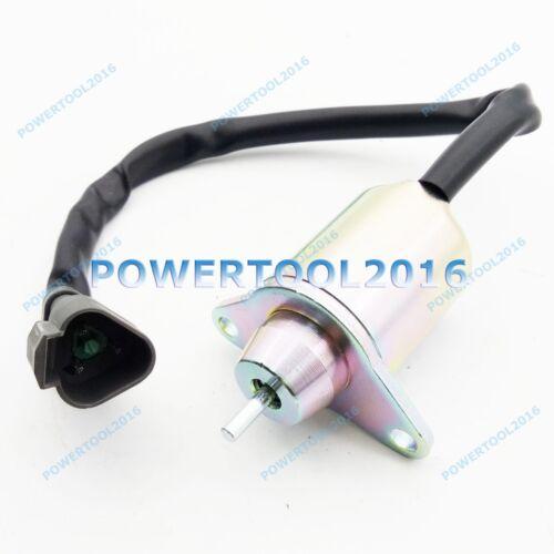 New 12V Fuel Stop Solenoid 1500-3076 1500-3024 fit for Yanmar Engine