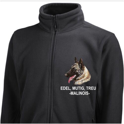 Pinewood Giacca Malinois Belgian ricamo by siviwonder cane