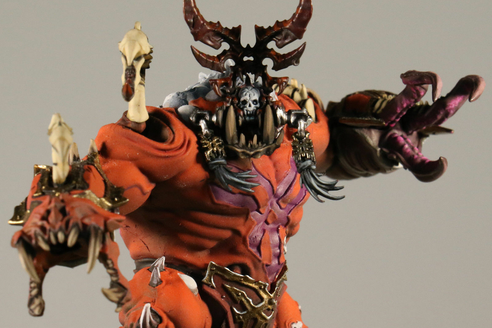 Warhammer Age Of Sigmar Khorgorath Skuldrak (Pro-Painted)