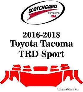 Genuine 3M Scotchgard Paint Protection Film 2016 2017 2018 Toyota Tacoma Sport