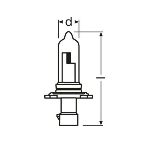 2x HB3xs 55w Tint Xenon Upgrade HID High Main Full Beam Headlight Headlamp Bulbs