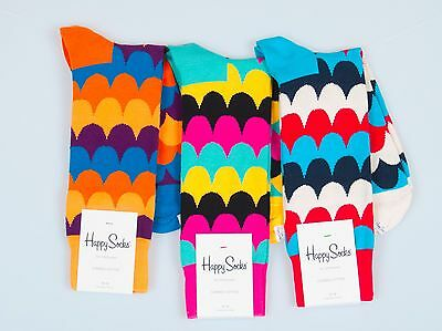 Happy Socks Men's Scales Socks Size 10-13 Multiple Colors Available