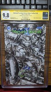 Batman-Teenage-Mutant-Ninja-Turtles-II-5-SKETCH-CGC-SS-9-8-signed-Williams-TMNT