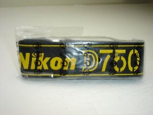 Details about NIKON D750 CAMERA NECK STRAP New condition  AN-DC14 , Genuine