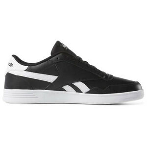 reebok shoes black and white