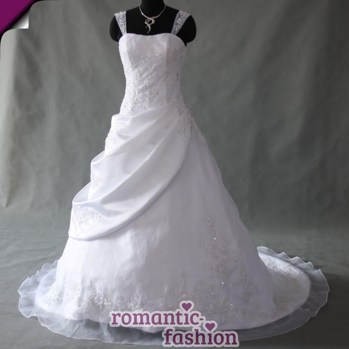 ♥Brautkleid, Hochzeitskleid Hochzeitskleid Hochzeitskleid Größe 34 bis 54 in Weiß +NEU+SOFORT+TOP+W040♥ | Schenken Sie Ihrem Kind eine glückliche Kindheit  1d0e02