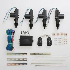 Car Central 12V Power Door Lock/Unlock Remote Kit Keyless Entry For 2/4 Door PM