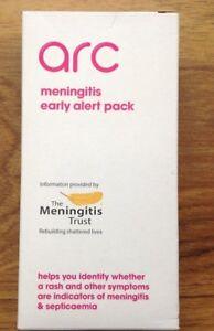 Arc Meningitis Early Alert Pack Reusable Device Helps Identify Rash Free Postage - St. Albans, United Kingdom - Arc Meningitis Early Alert Pack Reusable Device Helps Identify Rash Free Postage - St. Albans, United Kingdom