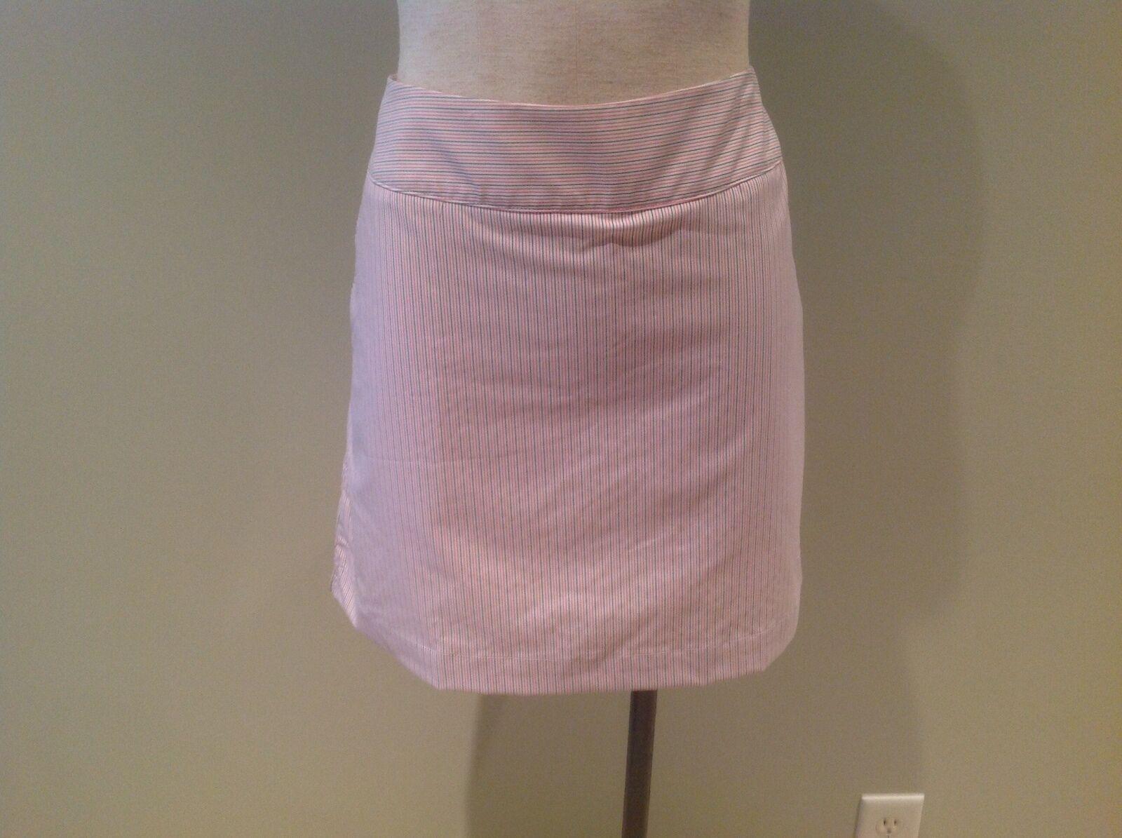 Adidas Climacool Pinstripe Stripe Skort Skirt New 8 Red White bluee