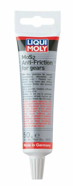 Liqui moly mos2 additif antifriction pour engrenages 50g