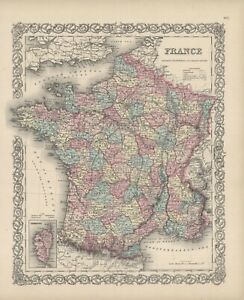"1860 Colton's  ""FRANCE"""