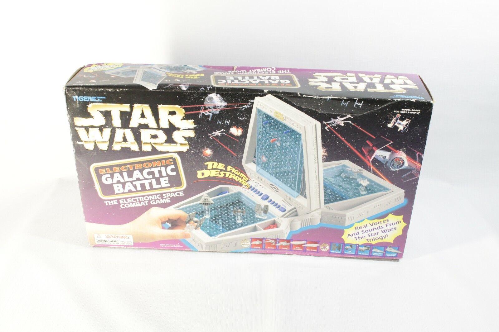 Star Wars Battleship Electronic Galactic Battle Game Tiger 1997