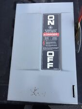 GE General Electric TGN3321 30A safety switch//disconnect non fused INDOOR ONLY