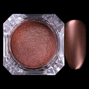 2g Born Pretty Matte Chocolate Nail Art Gillter Powder Dust Glitter