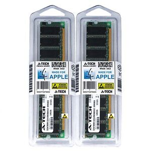 2GB-KIT-2X-1GB-PC2700-333-MHZ-APPLE-eMac-G4-M9425LL-A-M9834LL-A-A1002-MEMORY-RAM