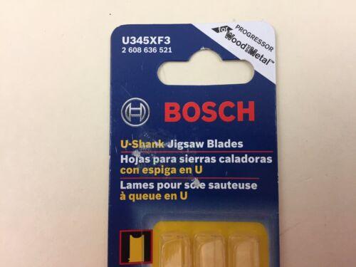 5-10P TPI Progressor for All Purpose U-shank Jig Saw Bosch U345XF3 3-Piece 5 In