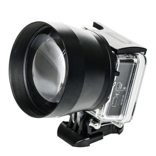 Universal 52mm Zoom HD Super Telephoto Lens Digital Camera for GOPRO 3+4 Xiaoyi