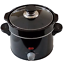 Horizon Cookware Universal Replacement Pot Lid Cover Knob Handle Black//Round