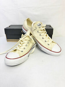 Details about CONVERSE ALL STAR OX NATURALUNBLEACHED WHIT SNEAKER M9165 UNI 8 MEN 10 WO