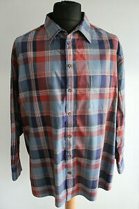 Walbusch-Easycare-Comfort-Fit-Shirt-KW-47-48-Blue-Red-Check