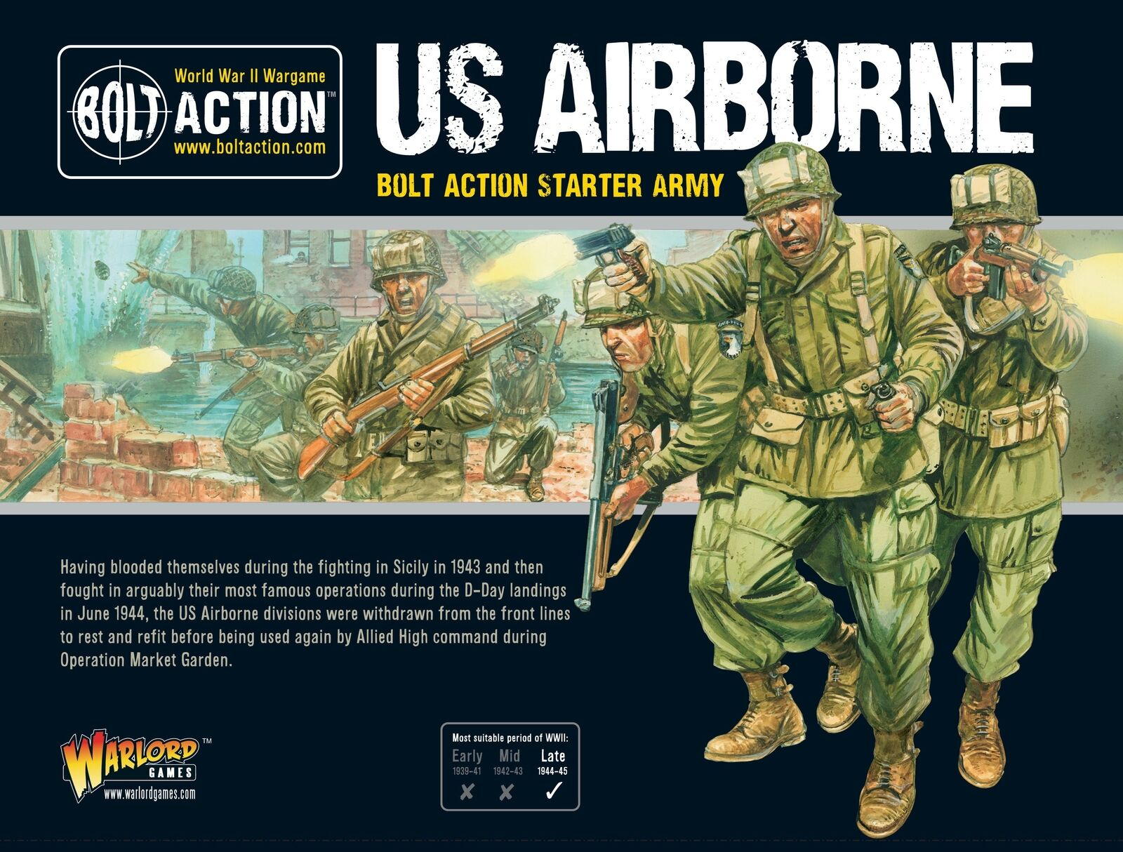 US Airborne Starter Army Warlord Games Brand New WGB-409913114