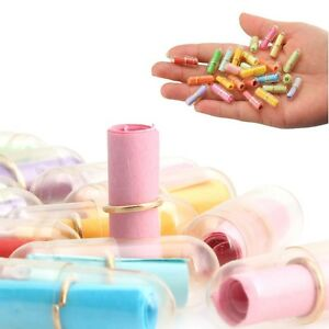 100-200Pcs-Message-in-a-Bottle-Message-Capsule-Letter-Cute-Love-Clear-Pill-Gift